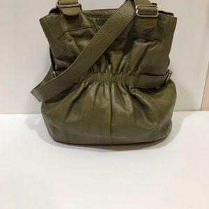 Superbe sac à main RUDSAK en cuir véritable